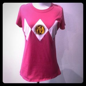 Tops - Pink Power Ranger T-Shirt